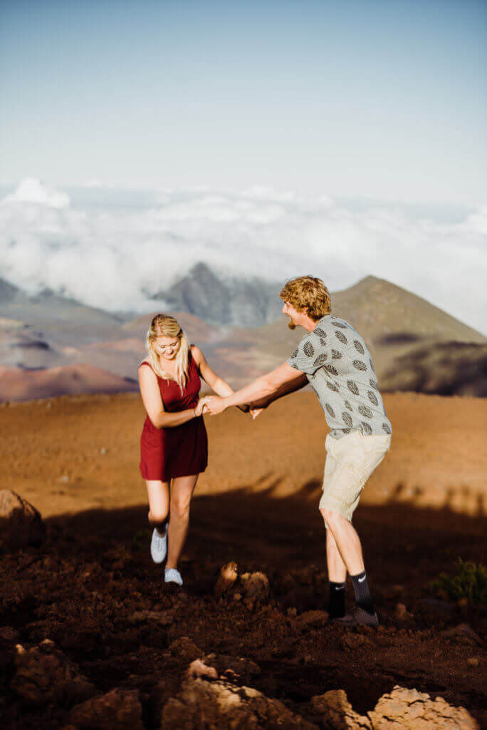 Haleakala National Park Adventure Session, Elopement, Maui