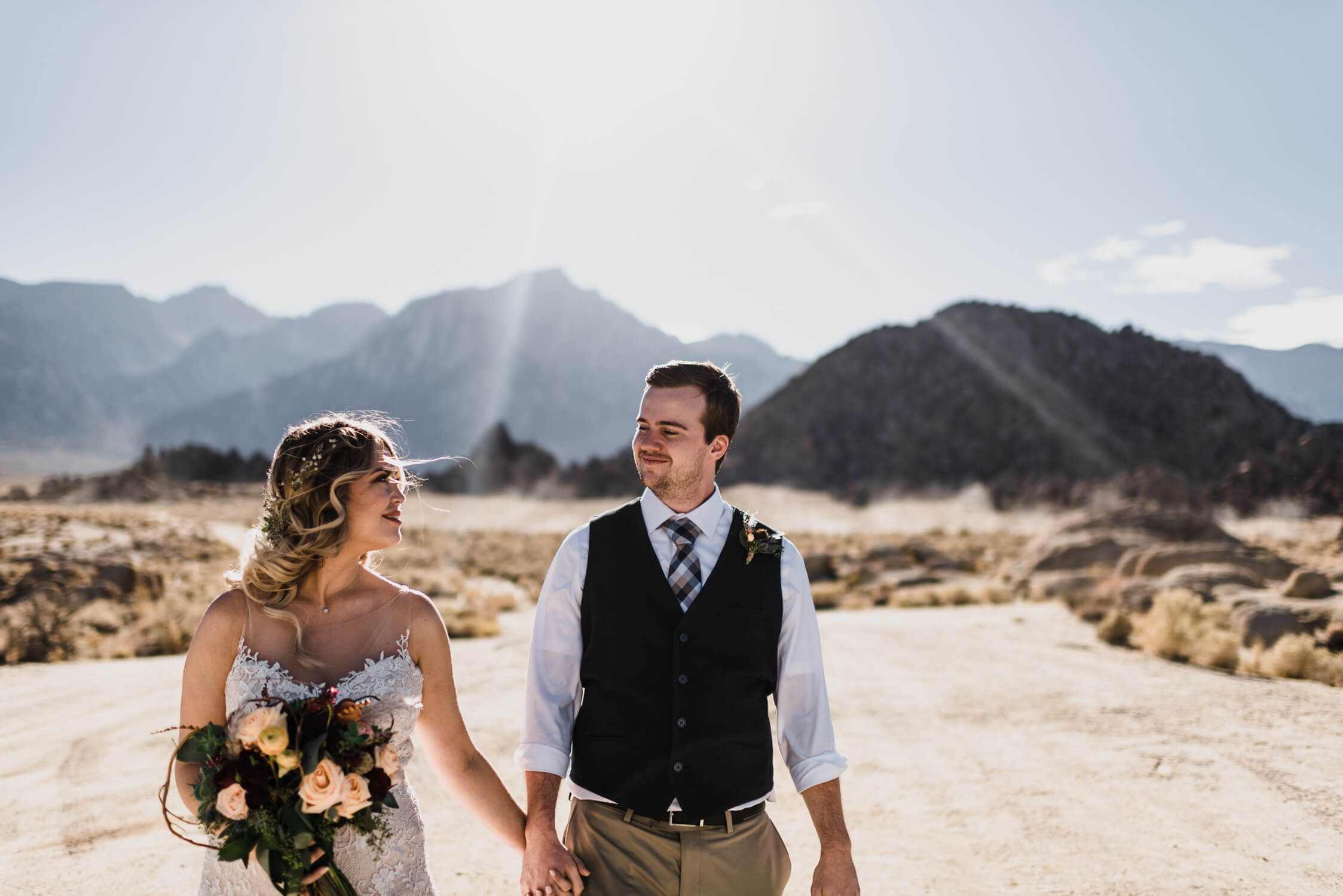 Alabama Hills california adventure elopement photographer