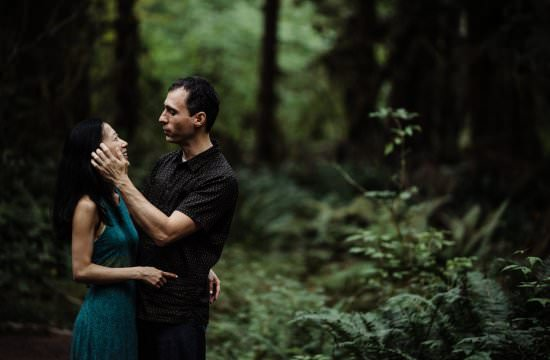 Hoh Rain forest engagement session