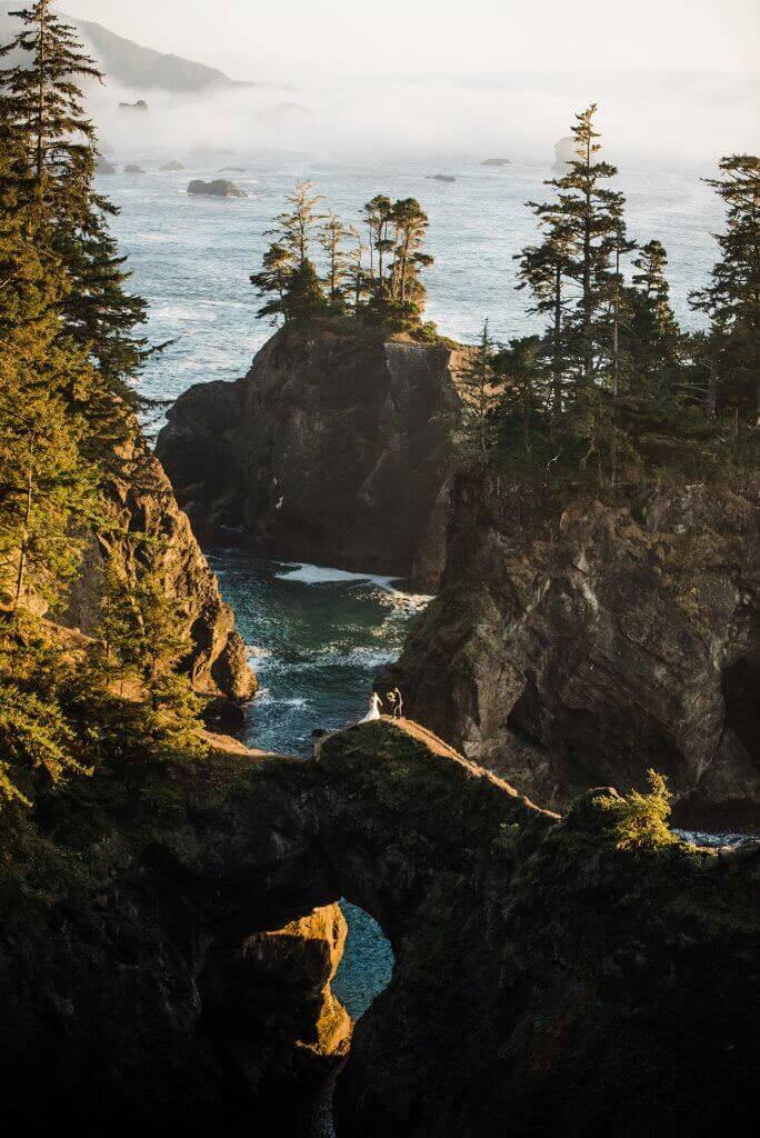 southern oregon coast, redwoods, jedediah smith, oregon coast elopement, california redwoods elopement, adventure elopement photographer