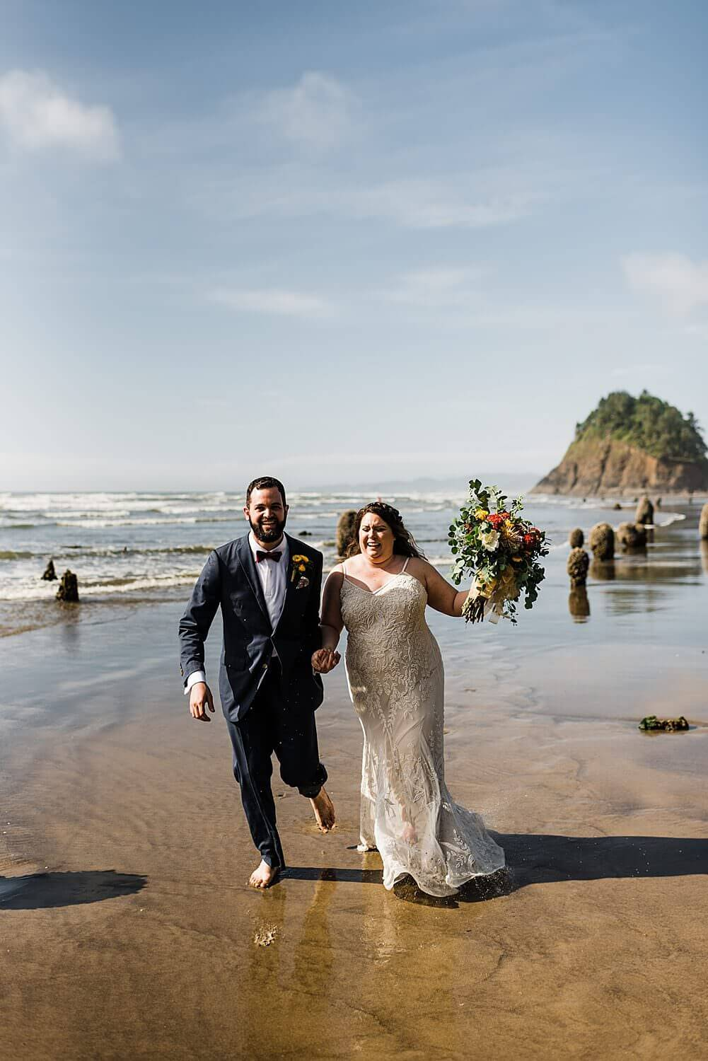 Neskowin,Oregon Coast,adventure elopement,cape kiwanda,elope your life,ghost forest,oregon,pacific northwest,proposal rock,sam starns,